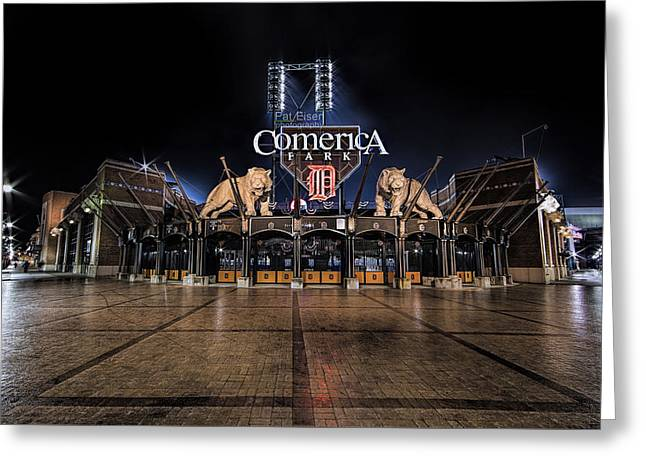 The Night Before Opening Day Greeting Card