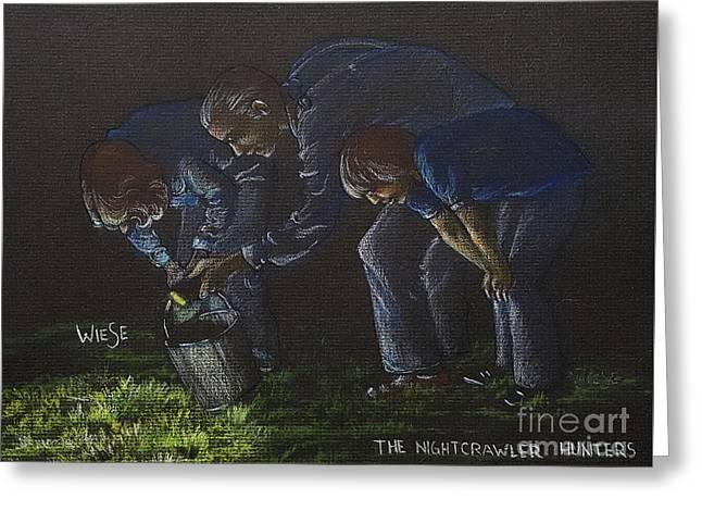The Nightcrawler Hunters Greeting Card
