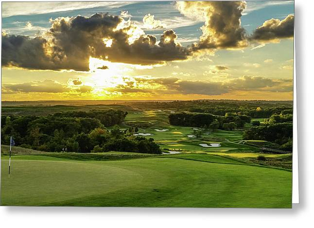 The Ninth Hole II Greeting Card