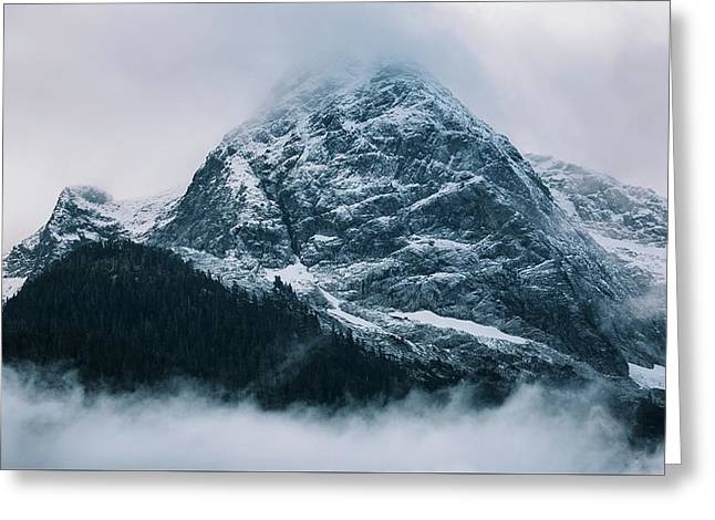 Greeting Card featuring the photograph The North Cascades by John Westrock
