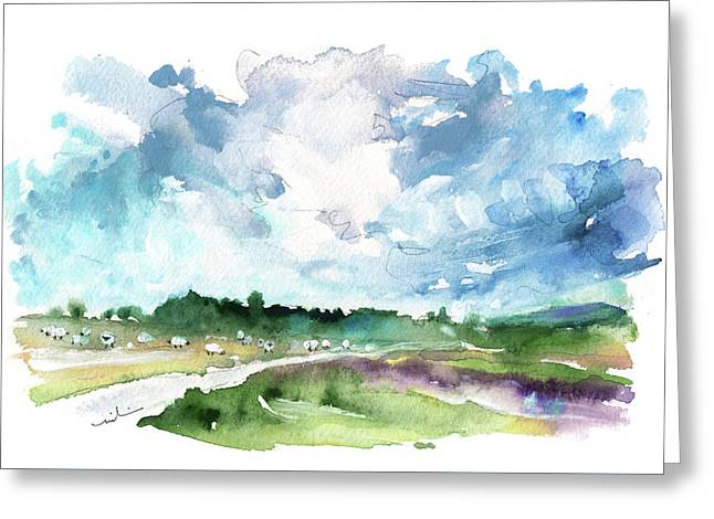 The North Yorkshire Moor 01 Greeting Card