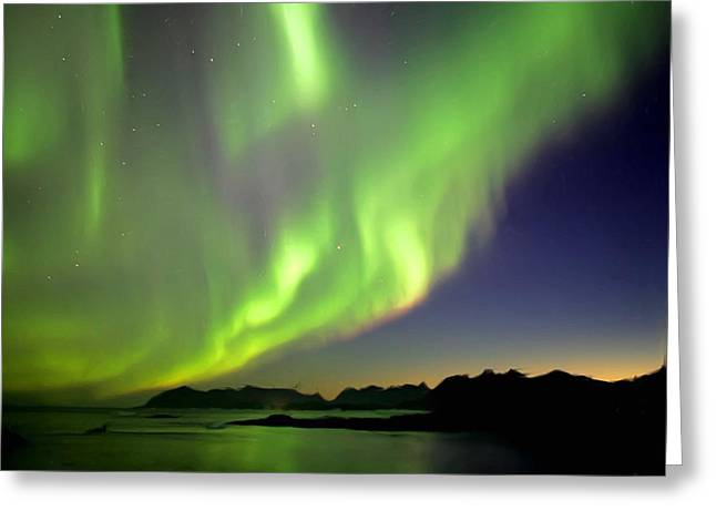 The Northern Lights Greeting Card