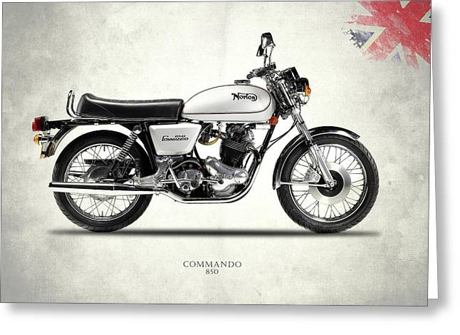 The Norton Commando 850 Greeting Card