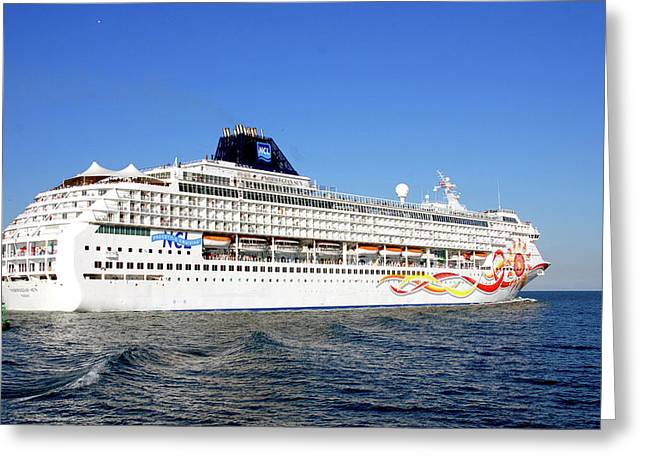 The Norwegian Sun Is Leaving Greeting Card