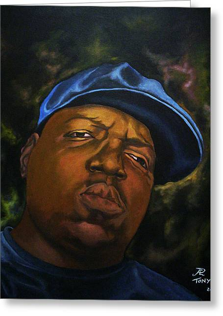 The Notorious B.i.g. Greeting Card