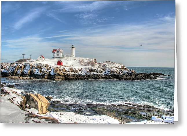 The Nubble Light Greeting Card