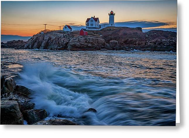 The Nubble Greeting Card