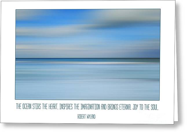 The Ocean By Robert Wyland Greeting Card by Liesl Marelli
