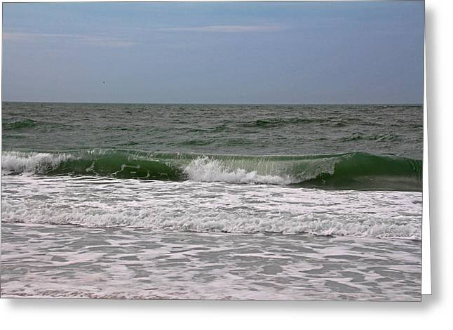 The Ocean In Motion Greeting Card