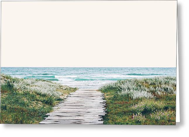 The Ocean Is Calling And I Must Go  Greeting Card by Uma Gokhale