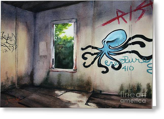 The Octopus's Garden Greeting Card