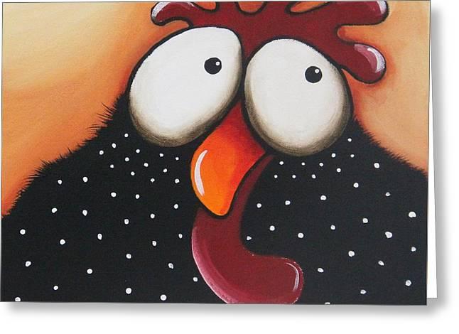 The Odd Chicken Greeting Card