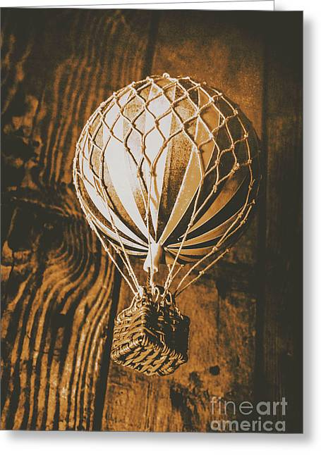 The Old Airship Greeting Card by Jorgo Photography - Wall Art Gallery