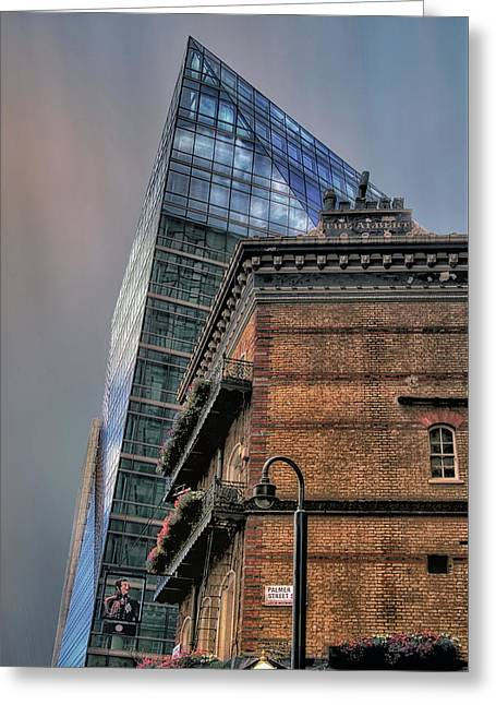 The Old And The New Greeting Card by Jim Hill