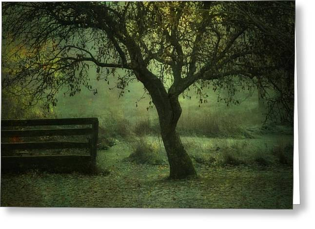 The Old Apple Tree Greeting Card
