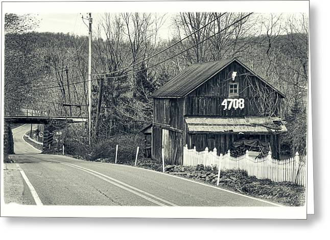 Greeting Card featuring the photograph The Old Barn by Mark Dodd