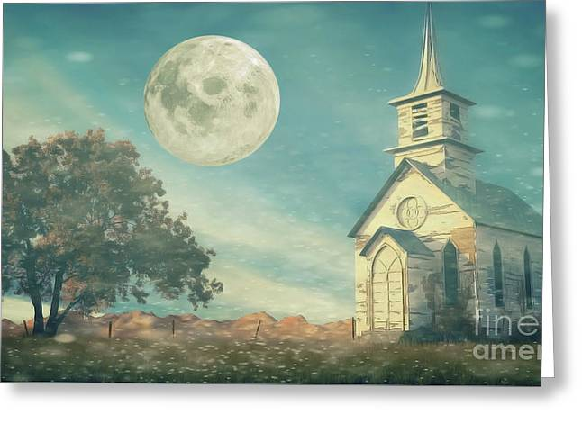 The Old Church House Greeting Card
