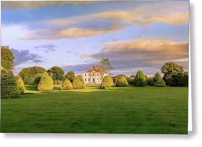 The Old Country House Greeting Card by Roy McPeak