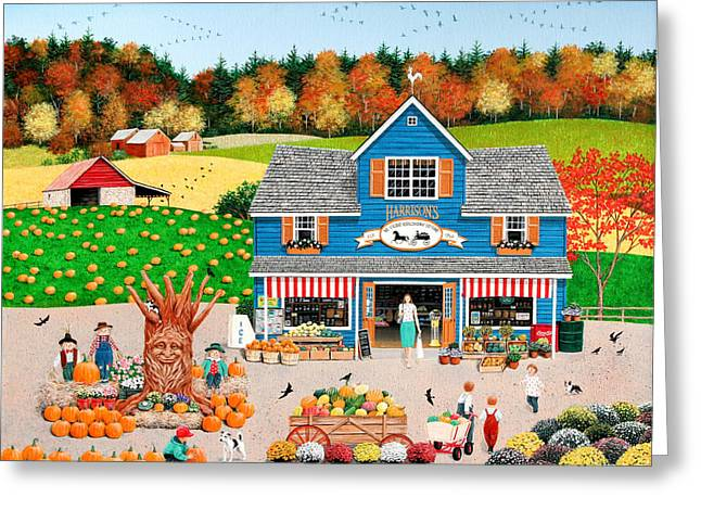 The Old Country Store Greeting Card