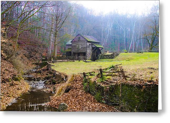 The Old Cuttalossa Mill - Bucks County Pennsylvania Greeting Card