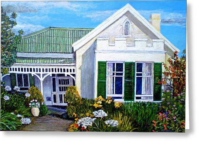 The Old Farm House Greeting Card by Michael Durst