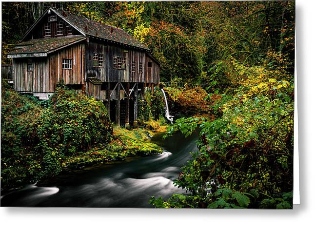 The Old Flour Mill Greeting Card
