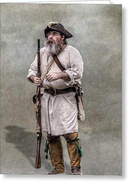 Citizens Greeting Cards - The Old Frontiersman   Greeting Card by Randy Steele
