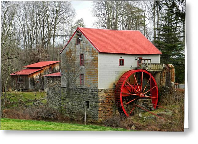 The Old Guilford Mill Greeting Card