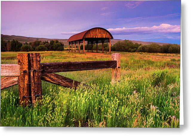 The Old Hay Barn Greeting Card