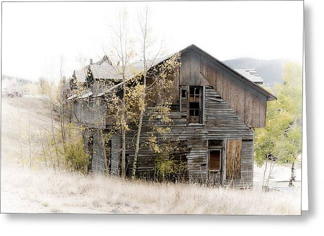 The Old Home Greeting Card by Graham Hughes