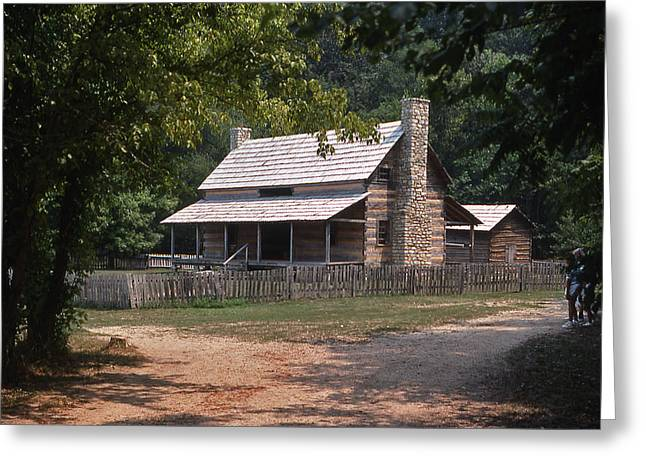 The Old Homeplace - 1 Greeting Card by Randy Muir