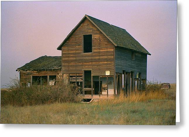 The Old Homestead Greeting Card by JoJo Photography