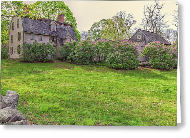 The Old Manse Concord, Massachusetts Greeting Card