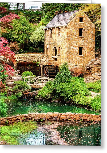 The Old Mill In North Little Rock Greeting Card
