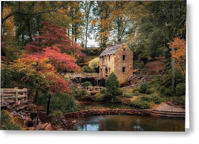 The Old Mill Greeting Card by James Barber
