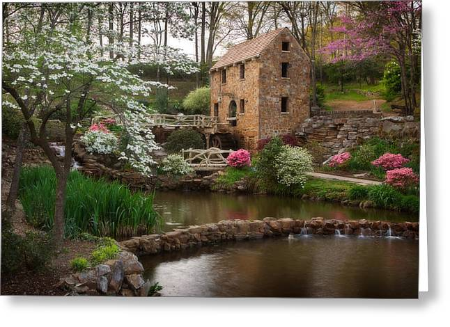 Old Mills Photographs Greeting Cards - The Old Mill Greeting Card by Jonas Wingfield