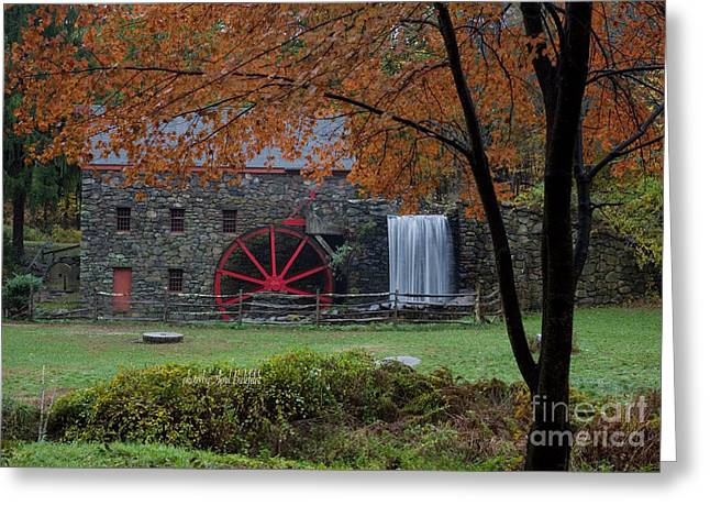 The Old Mill New England  Greeting Card