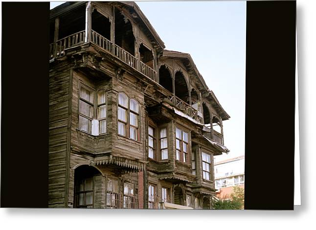The Old Ottoman House Greeting Card by Shaun Higson