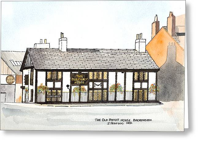 The Old Packet House Greeting Card