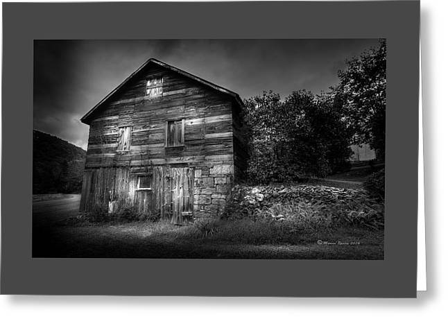 The Old Place Greeting Card by Marvin Spates