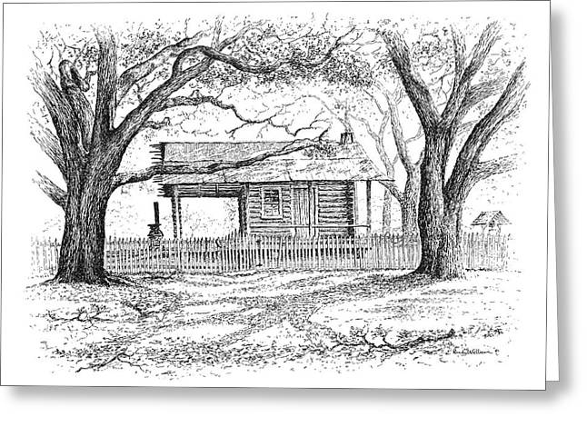 The Old Richardson Place Greeting Card