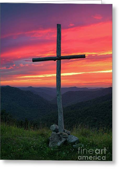 The Old Rugged Cross Greeting Card