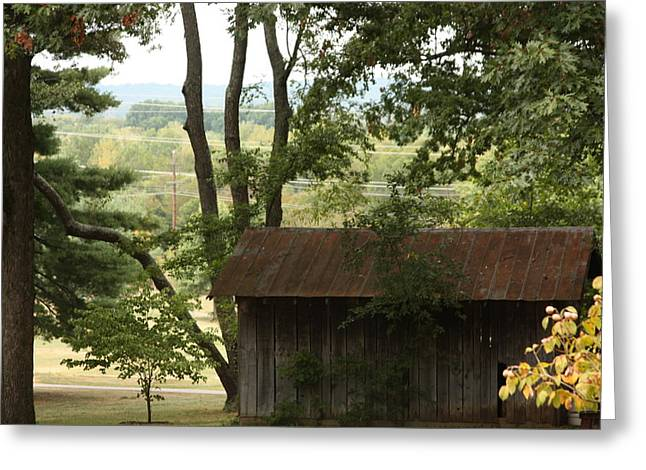 The Old Shed Greeting Card by Bruce McEntyre