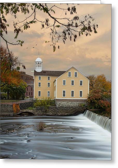 The Old Slater Mill Greeting Card