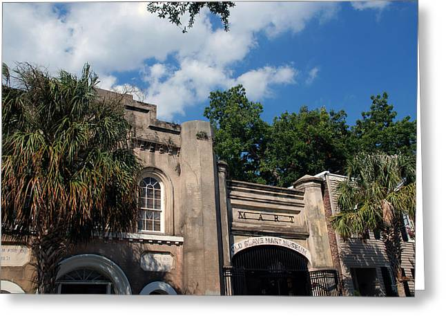 The Old Slave Market Museum In Charleston Greeting Card by Susanne Van Hulst