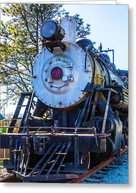 The Old Southern Pacific Lines Engine 90 Greeting Card