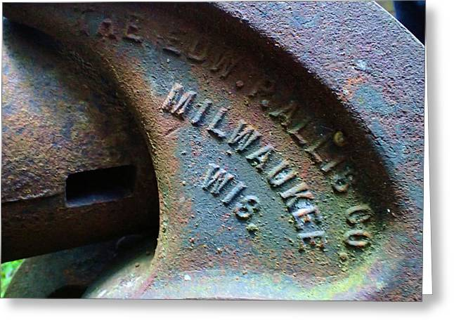 The Old Stamp Mill- Findley Mine Greeting Card