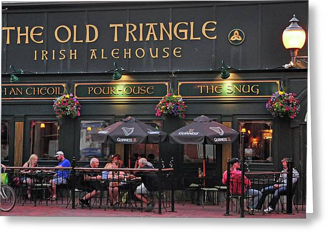 The Old Triangle Alehouse Greeting Card
