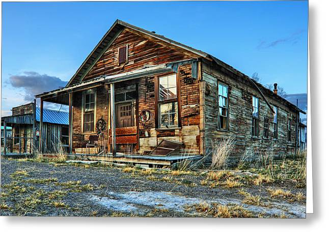The Old Wendel General Store Greeting Card by James Eddy
