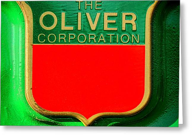 The Oliver Corporation Greeting Card by Olivier Le Queinec